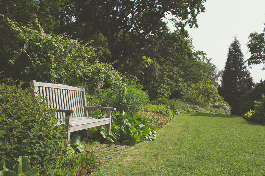 Jardin banc