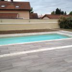 Piscine pavage